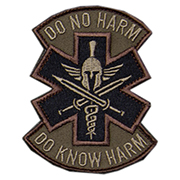 Mil-Spec Monkey Patch Do No Harm - Spartan forest