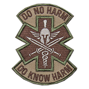 Mil-Spec Monkey Patch Do No Harm - Spartan multicam