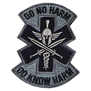 Mil-Spec Monkey Patch Do No Harm - Spartan acu