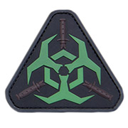 Mil-Spec Monkey 3D Rubber Patch Outbreak Response greenglow