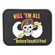 Van Os 3D Rubber Patch Kill 'em all schwarz