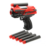 Johntoy Serve & Protect Shooter Starter Mini 10 cm inkl. 6 Pfeile