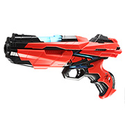 Johntoy Serve & Protect Shooter Medium mit Licht inkl. 6 Pfeile