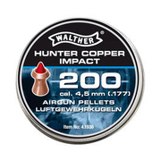 Walther Spitzkopf-Diabolos Hunter Copper Impact 4,5mm 200 Stück