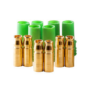 Castle Creations 4mm Polarized Connector Goldbuchsen Set (3 Sets) CSE011007600