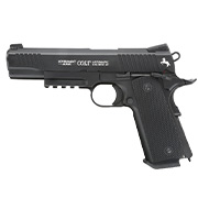 Colt M45 CQBP Vollmetall CO2 Pistole 4,5 mm (.177) BB brüniert Blowback