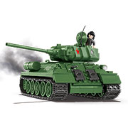 Cobi World Of Tanks Bausatz Panzer T-34/85 500 Teile 3005A