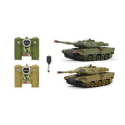 Jamara 1:43 Panzer Battle Set Leopard II 2,4 Ghz RTR Set 403634