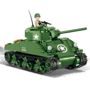 Cobi Historical Collection Bausatz Panzer Sherman M4A1 480 Teile 2464A