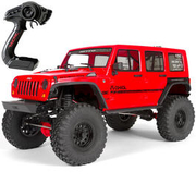 Axial 1:10 SCX10 II Jeep Wrangler Unlimited CRC 2017 4WD Scale-Truck 2,4 GHz RTR Set AX90060