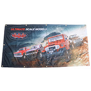 RC4WD 1190 x 600 mm Stoffbanner Scale Modelle Z-L0162