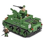 Cobi Historical Collection Bausatz Panzer M7 Priest 105mm HMC 500 Teile 2386