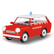Cobi Youngtimer Collection Trabant 601 universal Feuerwehr 77 Teile 24555