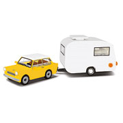 Cobi Youngtimer Collection Trabant 601 mit Caravan 218 Teile 24590