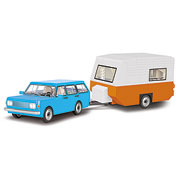 Cobi Youngtimer Collection Wartburg 353 tourist + Caravan 255 Teile 24592