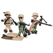 Cobi Historical Collection Deutsches Afrika Korps Soldiers 26 Teile 2034