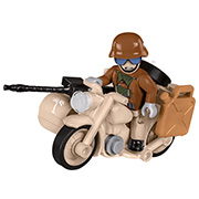 Cobi Historical Collection Bausatz BMW R75 Motorrad Gespann DAK-Version 50 Teile 2397