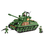 Cobi Historical Collection Bausatz Panzer M4A3E8 Sherman Easy Eight 745 Teile 2533
