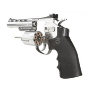 Legends S40 CO2 Revolver 4 Zoll Kal. 4,5mm Diabolo chrom Vollmetall