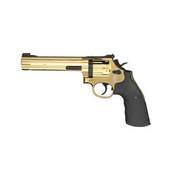 Smith & Wesson Mod. 686 6 Zoll CO2 Revolver Kal. 4,5mm (.177) Diabolo Gold-Finish