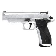 Sig Sauer X-Five CO2-Luftpistole Kal. 4,5 mm Diabolo stainless steel Vollmetall Blowback