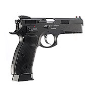 ASG CZ 75 SP-01 Shadow CO2-Luftpistole Kal. 4,5mm BB schwarz Vollmetall Blowback