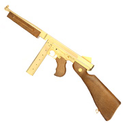 Legends M1A1 Legendary CO2-Luftgewehr Blowback Kal. 4,5 mm Stahl-BB Gold-Edition