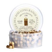 Skenco Spitzkopf-Diabolos Golden Rod Long Range Pellets 4,5mm 150 Stück