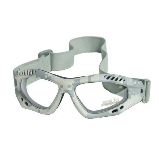 Mil-Tec Brille Commando Air-Pro klar AT-Digital