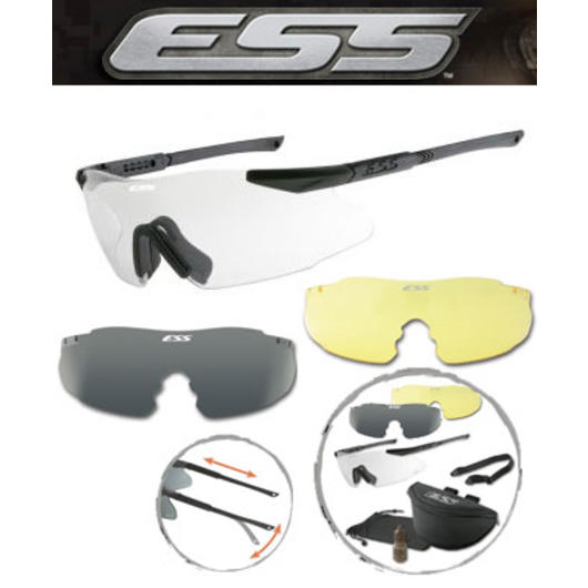 ESS Brille ICE-3 Kit International