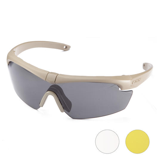 ESS Brille Crosshair 3LS Set terrain tan