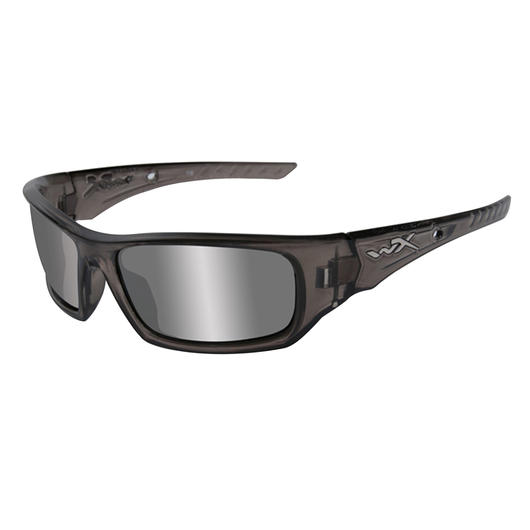 WileyX Brillw Arrow liquid grey silver flash rauchgrau