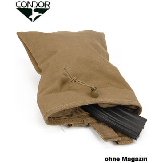 Condor Magazin Drop-Tasche coyote