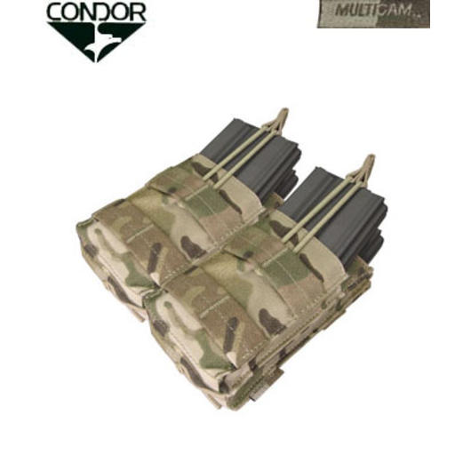 Condor Double Stacker Magazintasche /4-fach) Multicam