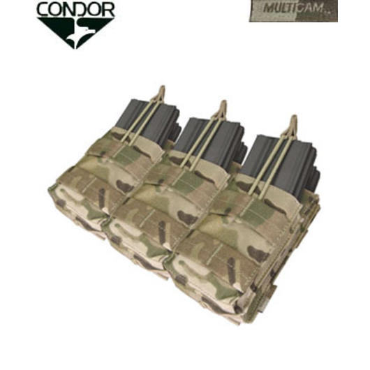 Condor M4/M16 Triple Stacker Magazintasche (6-fach) Multicam