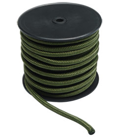 Mil-Tec Commando-Seil oliv 7 mm, 50 mtr.