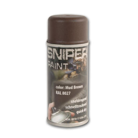 Sniper Paint Sprühfarbe, Mud Brown (RAL 8027) 0