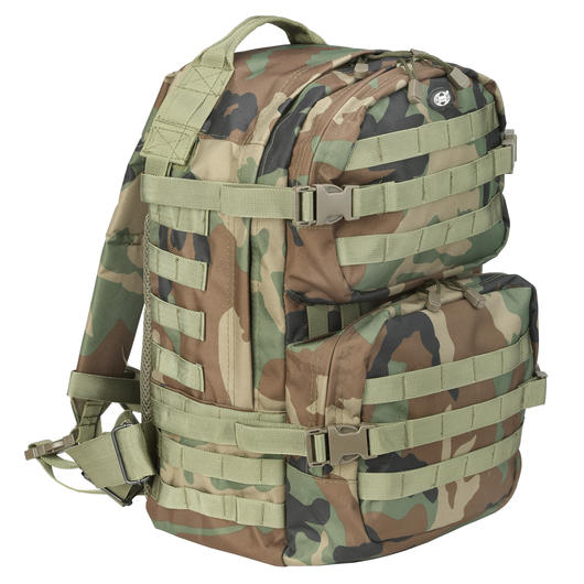 Rucksack US Assault II woodland