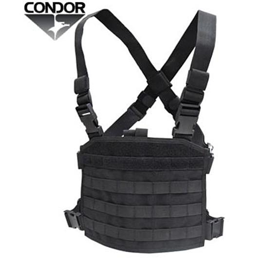 Condor Outdoor Modular Chest Panel schwarz