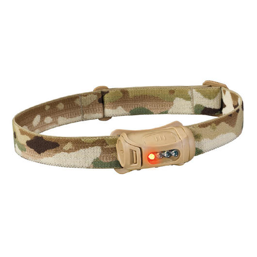 Princeton Tec MPLS Fred Tactical LED Stirnlampe, sand / Multicam