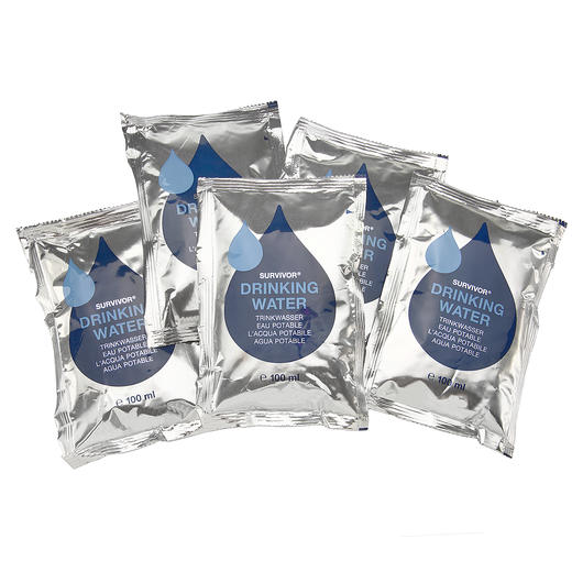 Trinkwasser Emergency 5er Pack