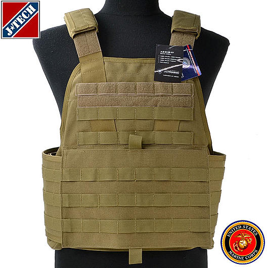 J-Tech USMC Aegis IV Outer Shell Plate Carrier coyote