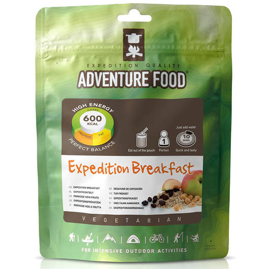 Adventure Food Expeditions Frühstück Einzelportion