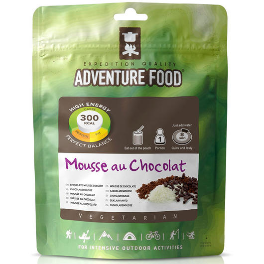 Adventure Food Mousse au Chocolat Einzelportion