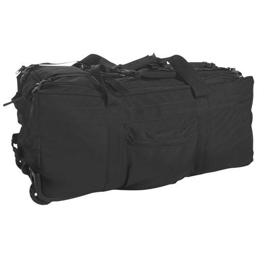 mil tec kampftrageseesack mit rollen schwarz g nstig kaufen kotte zeller. Black Bedroom Furniture Sets. Home Design Ideas