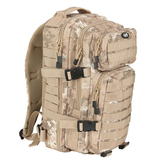 MFH Rucksack Assault I vegetato desert