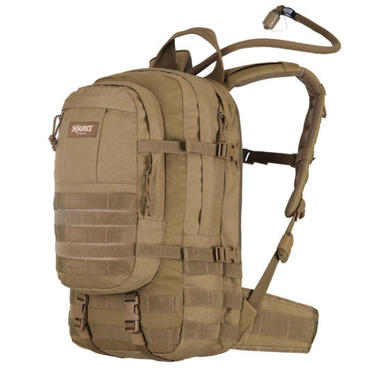 Source Tactical Gear Trinkrucksack Assault 10L coyote mit WXP Trinksystem