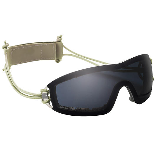 Swiss Eye Sportbrille Infantry rubber smoke