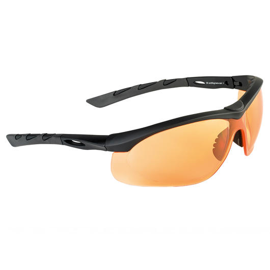 Swiss Eye Schutzbrille Lancer rubber black/orange