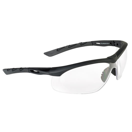 Swiss Eye Schutzbrille Lancer rubber black/clear